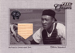 "2001 Fleer Greats ""Feel the Game Classics"" Elston Howard Bat #7"