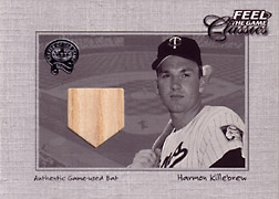 "2001 Fleer Greats ""Feel the Game Classics"" Harmon Killebrew Bat #9"