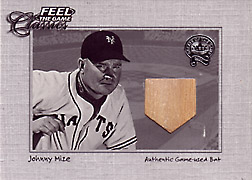 "2001 Fleer Greats ""Feel the Game Classics"" Johnny Mize Bat #13"