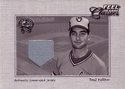 "2001 Fleer Greats ""Feel the Game Classics"" Paul Molitor Jersey #14"