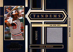 2004 Playoff Honors #T2 Eddie Murray Jersey