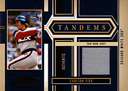 2004 Playoff Honors #T4 Carlton Fisk Jersey