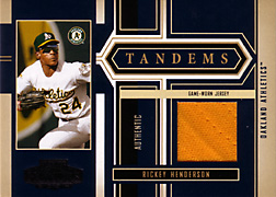 2004 Playoff Honors #T5 Rickey Henderson Jersey