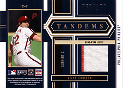 2004 Playoff Honors #T7 Steve Carlton Jersey