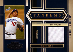 2004 Playoff Honors #T11 Hideo Nomo Jersey