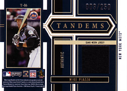 2004 Playoff Honors #T16 Mike Piazza Jersey