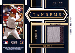 2004 Playoff Honors #T17 Fred Lynn Jersey