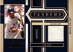 2004 Playoff Honors #T17 Jim Rice Jersey