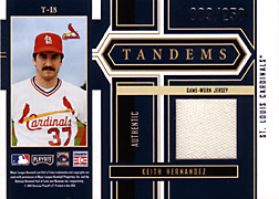 2004 Playoff Honors #T18 Keith Hernandez Jersey