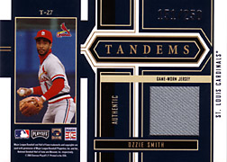 2004 Playoff Honors #T27 Ozzie Smith Jersey