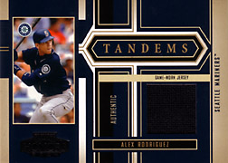 2004 Playoff Honors #T28 Alex Rodriguez Jersey