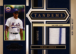 2004 Playoff Honors #T32 Dwight Gooden Jersey