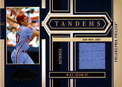 2004 Playoff Honors #T40 Mike Schmidt Jersey