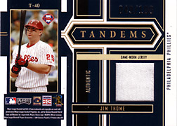 2004 Playoff Honors #T40 Jim Thome Jersey